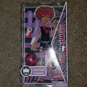 NIB Clawdeen Wolf Scream Team